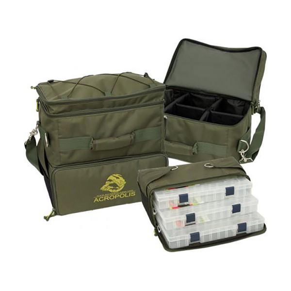 Trijų skyrių krepšys žvejams RS-1U